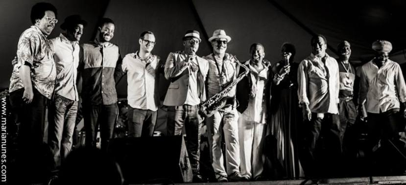 All Star Tribute Band. Photo © 2014, Maria Nunes