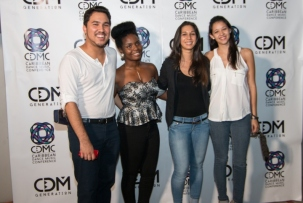 CDM Generation Team Members - From Left - Kyle Ng Mann, Naomi Anderson, Karrilee Fifi, Melissa Silva. Photo courtesy GlowTT