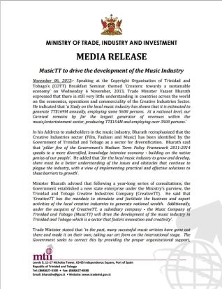 mtii media release