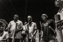 ...with the Claxton Bay Tamboo Bamboo Band. © Maria Nunes