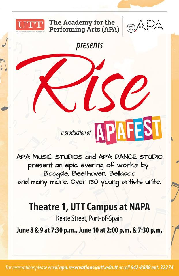 apafest-rise poster